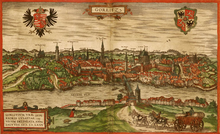 view of Goerlitz 1575
